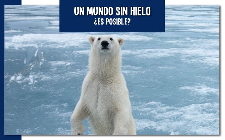 Un mundo sin hielo